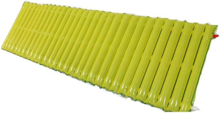 Colchón de acampar ultraligero para dormir MAT alfombrillas de rollo confortables almohadilla de aire compacta ligera cama individual inflable portátil y plegable para senderismo hamaca carpa camping