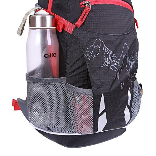 EGOGO 20L Leichtes Wandern Rucksack Fahrrad Rucksack Daypack Rucksack mit Regen Abdeckung S2321 Grün