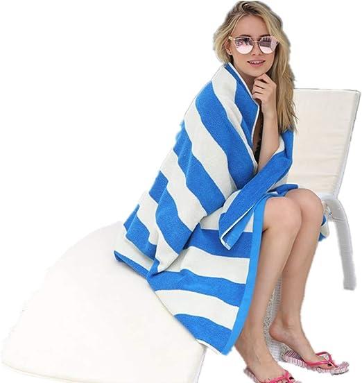 GSJJ Toalla Playa Grande clásico, Rayas diseño, Absorbente Suave ...