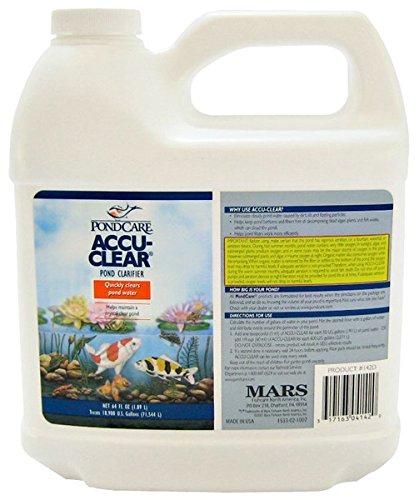 Pondcare 142d Accu-Clear Pond Clarifier, White, 64 Oz