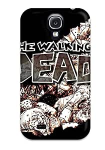 CxeNryu9807eKRTn Case Cover Protector For Galaxy S4 The Walking Dead Case