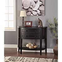 ACME Furniture 90200 Poshire Console Table, Black