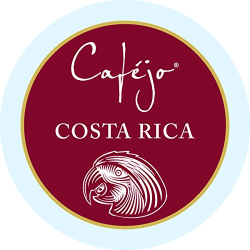 Cafejo K-Cups, Costa Rica Coffee, 50 Count