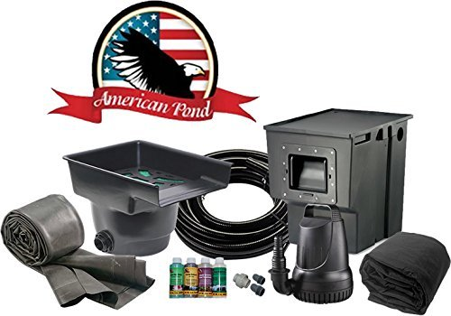 Kit Pond American (American Pond Freedom Series 4' x 6' Mini Pond Kit)