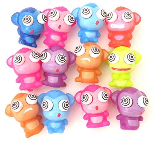 One Dozen (12) Monkey Eye Poppers