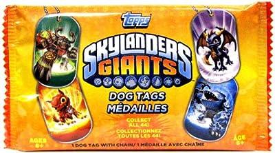 Mlb Skylanders Giants Dog Tags by Topps