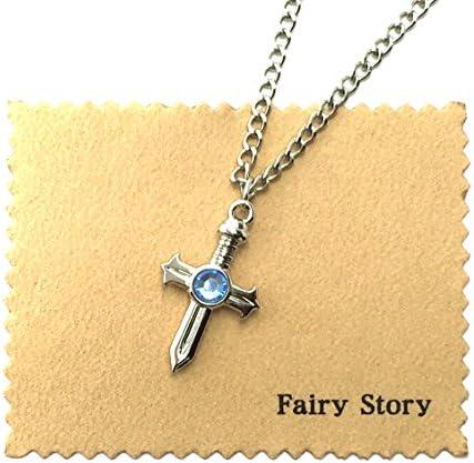 【Fairy Story】 フェアリーテイル FAIRY TAIL グレイ・ソルージュ モチーフ ネックレス 【クロス&箱あり】