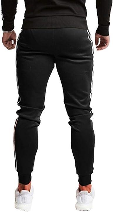 Heetey Pantalones de Deporte para Hombre otoño e Invierno, de ...