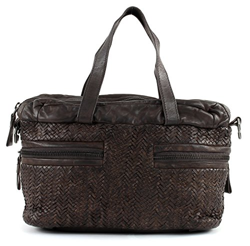 Sac à Liebeskind cuir 31 Marron cm Arizona main 5FFrw1Eq
