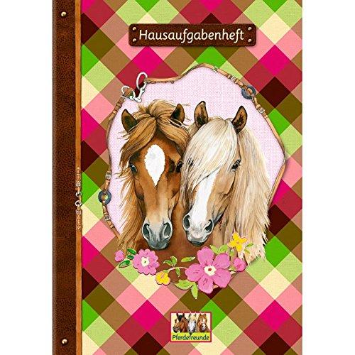 Hausaufgabenheft mit Pferdemotiv 11360 Format A5 Modellnr