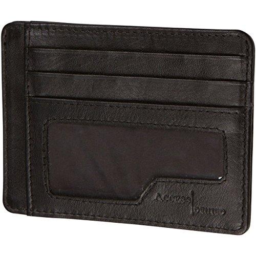 Access Denied Leather Wallet Pocket