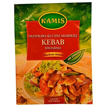 Kamis Kebab & Shoarma Seasoning 25g (Pack of ...