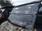 A&S AUDIO AND SHIELD DESIGNS 2013-2018 POLARIS RANGER XP 900,900-5 CREW , 2016-2017 POLARIS RANGER 1000 , 1000 CREW 3/16 POLYCARBONATE FOLD DOWN WINDSHIELD