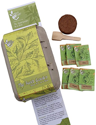 Herb Box Heirlooom Seed Kit