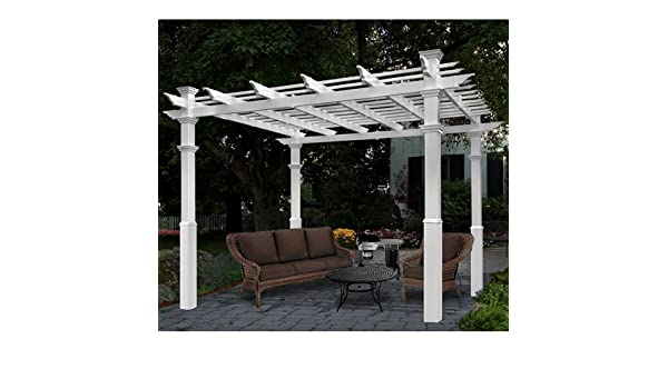 New England Arbors Luxor Pergola: Amazon.es: Jardín
