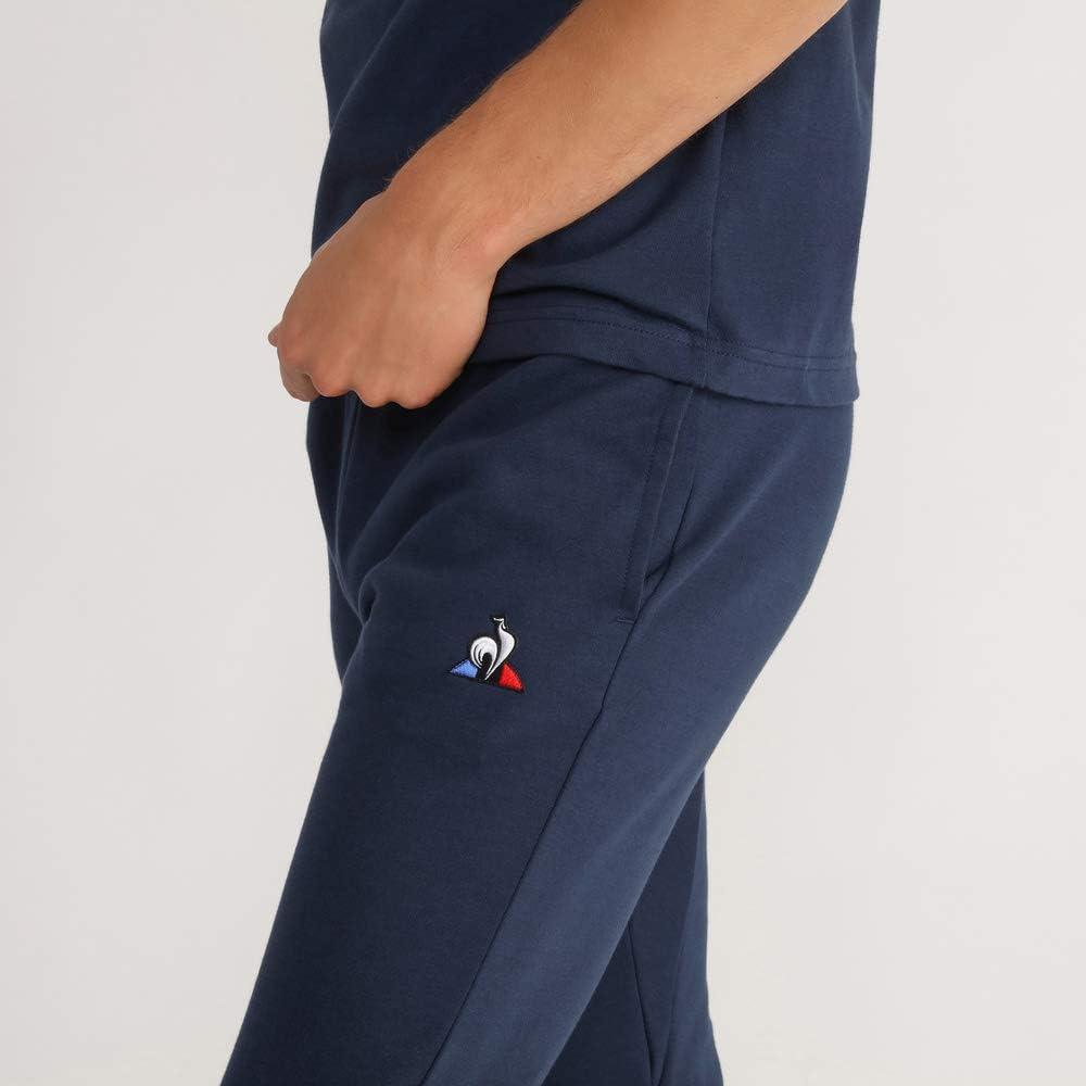 Mens Le Coq Sportif Essentials Retro Tapered Track Pants