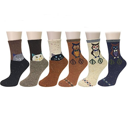 Wrapables Thick Animal Design Socks