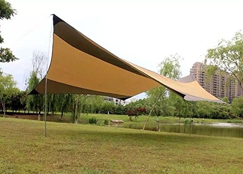 FUNS Outdoor Multi-use Portable Easy Set Up Canopy 16 x 16 Sun Shade Shelter Tarp Gazebo ... : easy setup canopy - memphite.com
