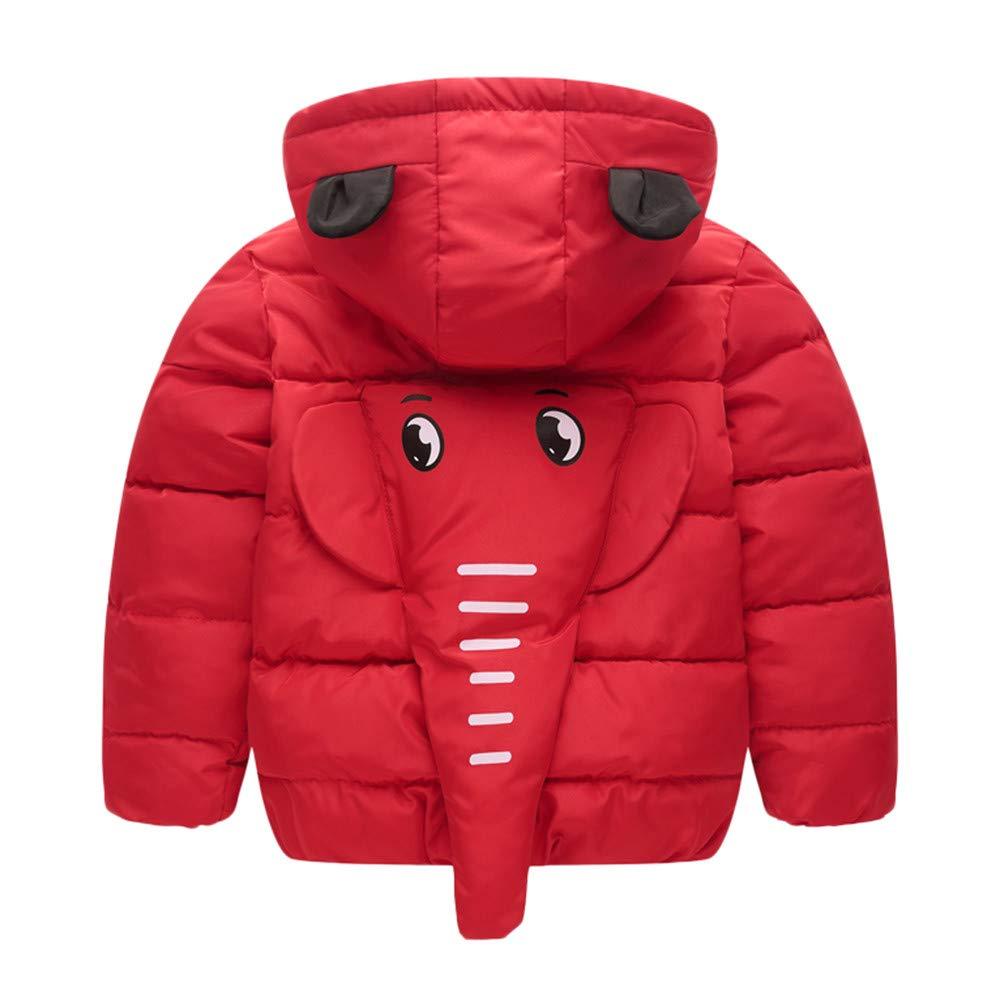 ❤ Amlaiworld Abrigos bebé Otoño Invierno, Bebé Niña Niño Abrigo con Capucha Invierno Capa Chaqueta Gruesa Ropa de Abrigo Caliente Outwear 3 Años - 7 ...