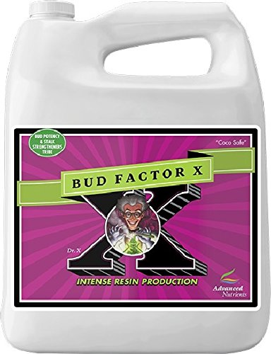 Advanced Nutrients Bud Factor X Fertilizer, 4L by Advanced Nutrients