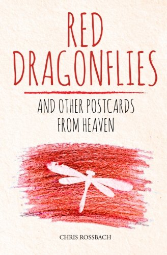 Dragon Postcard - Red Dragonflies and other Postcards from Heaven