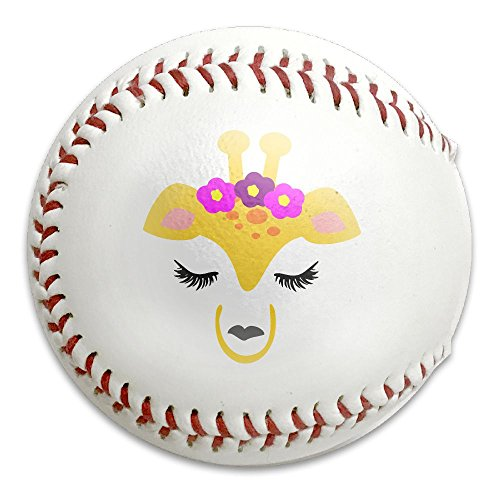 Giraffe Face Baseballs / Softballs,Advance Baseball,Reduce Impact Safety Practice Baseball (Halloween Miami Zoo)