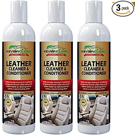 Amazon.com: KevianClean Leather Cleaner and Conditioner 16 oz. (3 ...