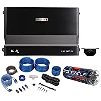 MB Quart XA1-1500.1D 1500w RMS X-Line Mono Car Audio Amplifier+Capacitor+Amp Kit