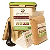 Bokashi Composting Starter Kit (1 Bin, 1 Bag of Bokashi and Full Instructions)