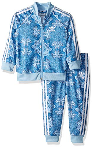 adidas Originals Unisex Baby Culture Clash SST Track Suit Set, Multi, 18M