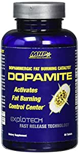 MHP Dopamite, Fat Burning Catalyst, 60 Count