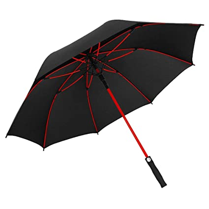 ac03c6d2d82a Amazon.com: Oversized Double Folding Sun Umbrella,Double-Layer ...