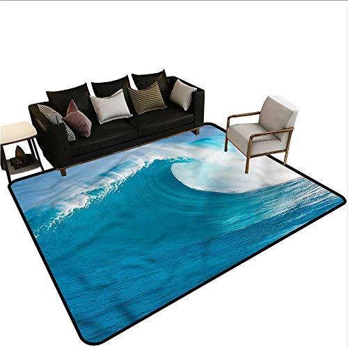 Ocean,Large Floor Mats for Living Room 48