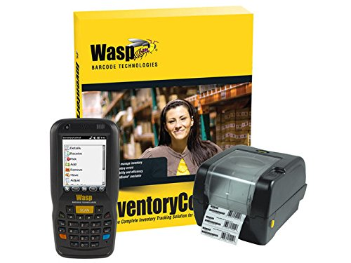 (Wasp Barcode Inventory Control RF Standard, Inventory Tracking Solution with DT60 (Numeric) and WPL305, 1 User)