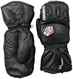 Reusch Snowsports Noram DX Mitten, Black, Medium