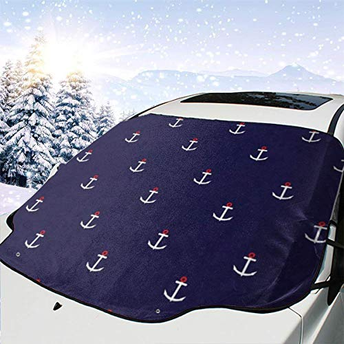 Used, Abstract Nautical Windshield Snow Cover Car Windshield for sale  Delivered anywhere in Canada