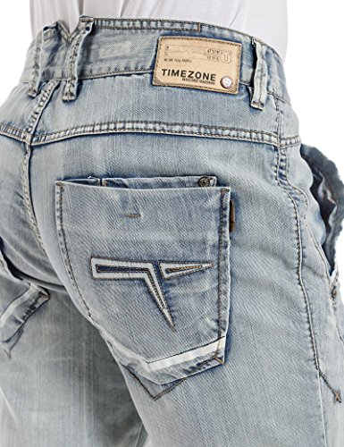 Timezone Shorts OswinTZ in bright blue wash
