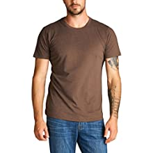 Brown camel men's t-shirt