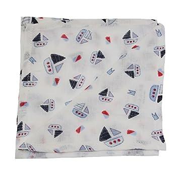 SLUMBERTAG Muslin Cloth Baby Comforter Security Blanket Butterfly 30x30