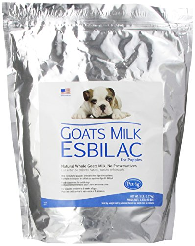 Goat's Milk Esbilac® GME Powder Milk Formula for Puppies with Sensitive Digestive Systems 5lb (Esbilac Milk Replacer Powder)
