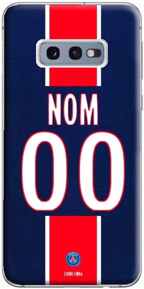 Samsung Galaxy S9 Ligue Champion Coque Maillot Foot Paris Domicile 2020//2021 Personnalisable
