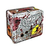 (7x8) Zombie Survival Kit Metal Lunchbox