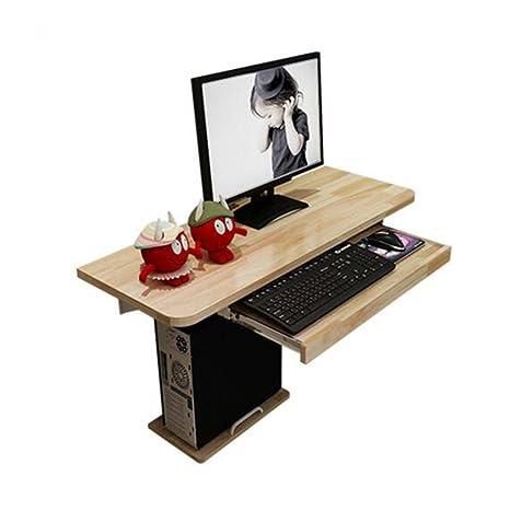 ZR-Mesa de Pared Escritorio de la computadora con Almacenamiento ...
