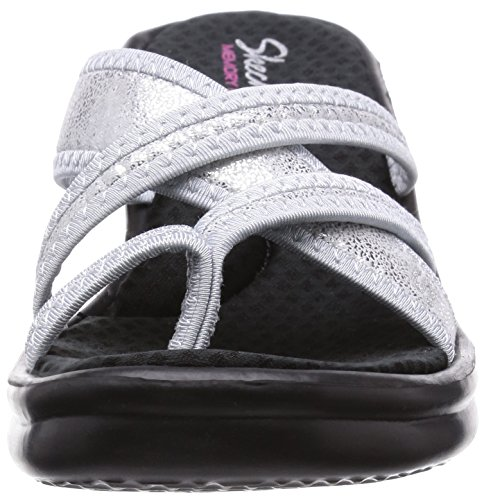 Heart Rumblers Skechers young At Platea Sparkle Con Silver Sandali Donna 4RtqOxt