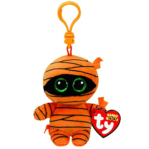 Claire's Girl's TY Halloween Beanie Boos Mask the Mummy Plush Clip in (Claire's Halloween)
