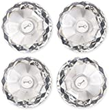 LockerLookz Locker Gem Magnets - Clear - 4 pieces