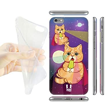 Los amantes de los regalos Head Case Designs Cosmic paleta gatos en espacio Soft Gel Back Case Cover para Apple Iphone 6 PLUS 5,5 8470960 M10506587: ...