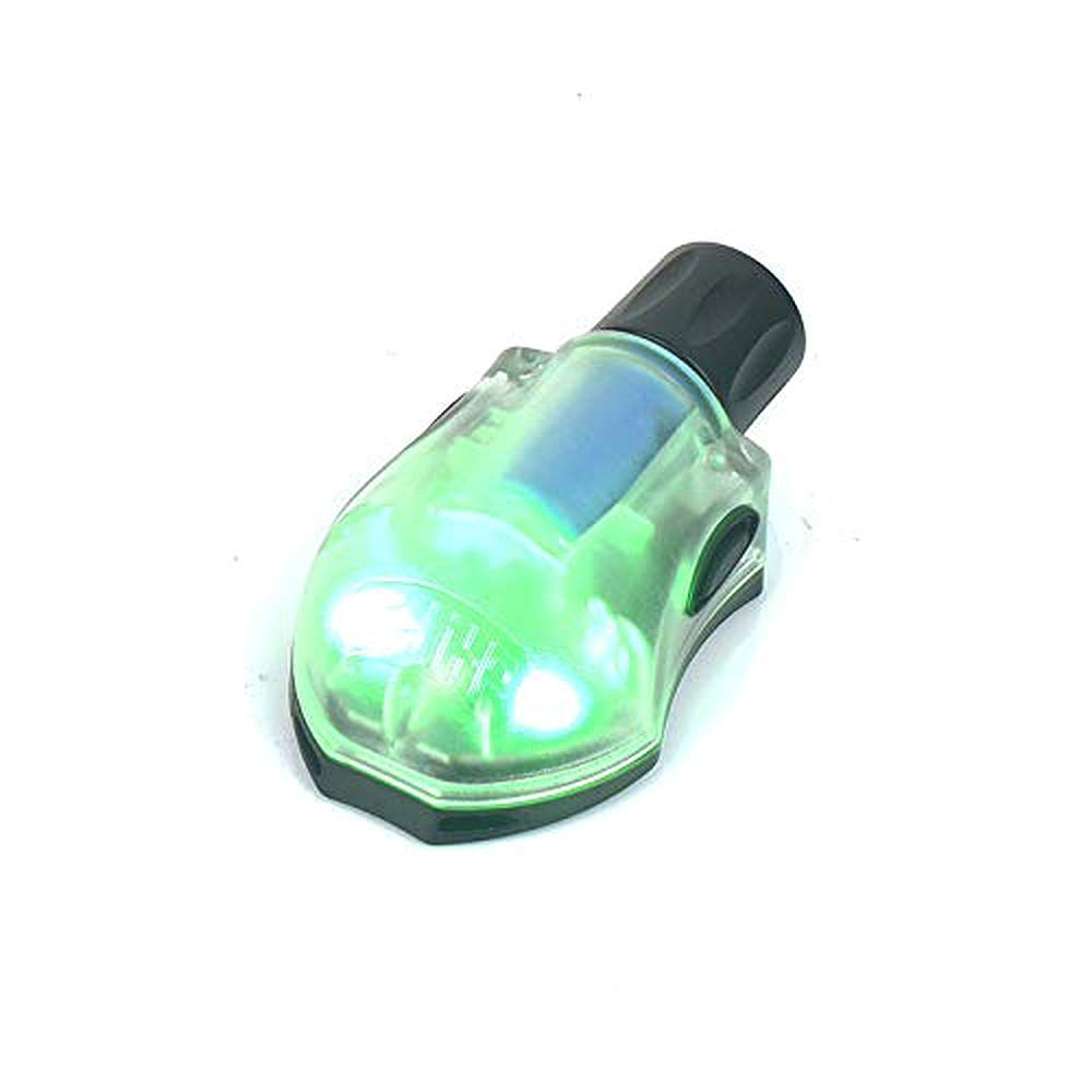 HEL-Star 6 Tactical Helmet Signal Light Green /& IR Or Red /& IR Military Airborne Survival Light with Magic Tape Fast Helmet Rescue Light