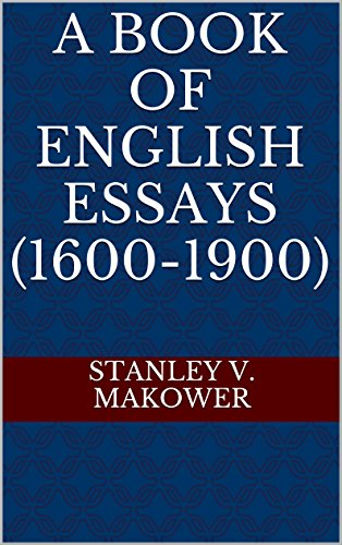 a book of english essays   kindle edition by stanley v  a book of english essays  by makower stanley v