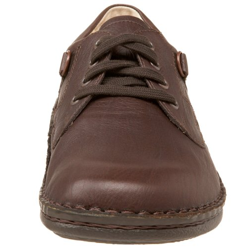 Finn Comfort Mens Vaasa Lace-up Oxford Caffè Pieno Fiore